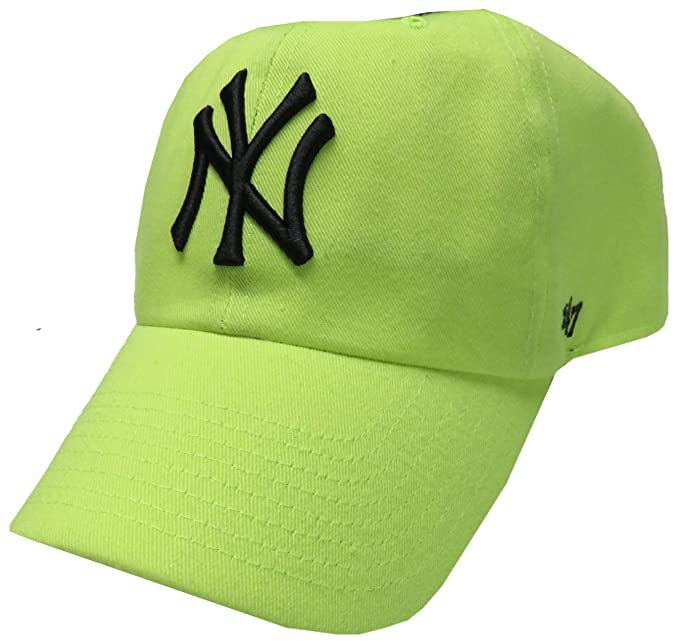 Forty Seven Brand Women s Yankees Hat Ball Cap Neon Yellow  Amazon.ca   Clothing   Accessories 7c6f09fc21c