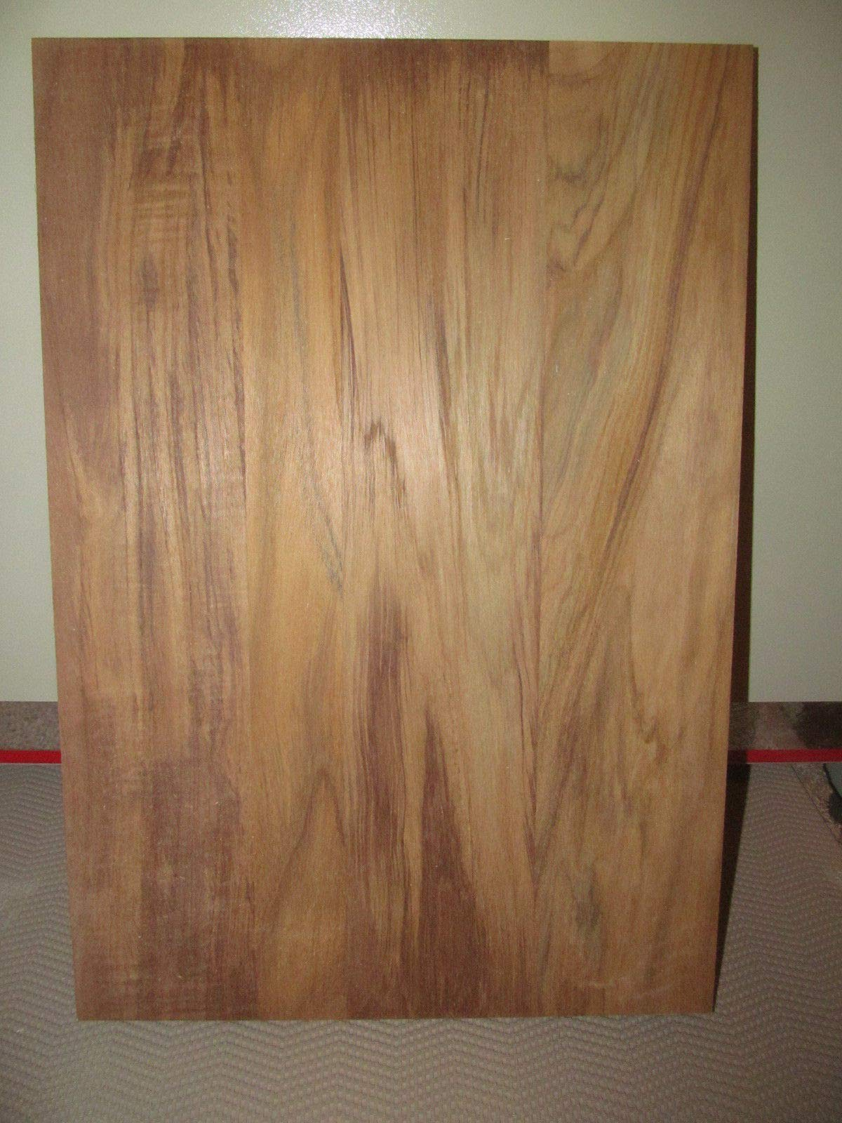 Wood) Beautiful Wide Sanded KILN Dried Teak Panels Wood Lumber 24 X 14 X 3/4'' by (High Quality Wood)