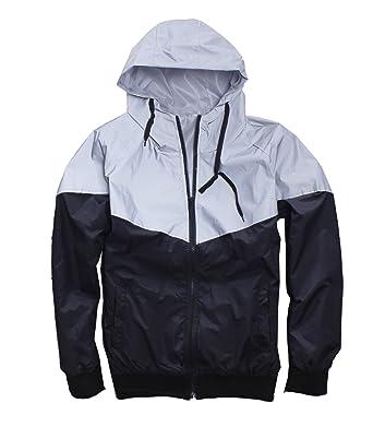 Amazon.com: Men's Outerwear 3M Reflective Running Jacket: Clothing