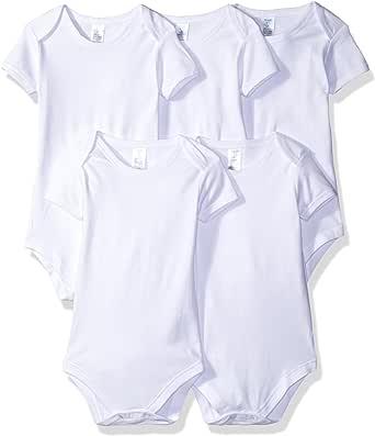 Spasilk Baby Cotton Short Sleeve Lap Shoulder Bodysuit