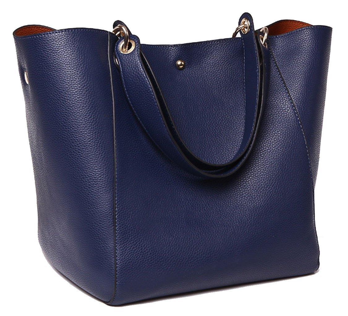 Tibes mode sac à bandoulière en cuir synthétique imperméable Sac à main Femme Sacs A bleu clair 111shoutibao26-qianlanse