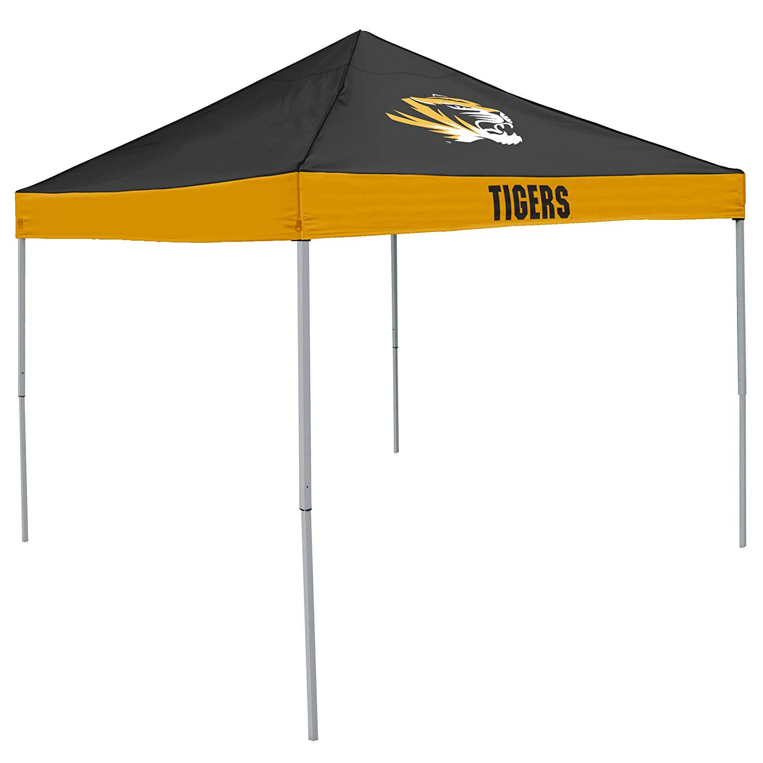 NCAA - Economy Tent by Logo Brands  sc 1 st  Amazon.com & Amazon.com : Rivalry NCAA West Virginia Mountaineers Canopy Top ...
