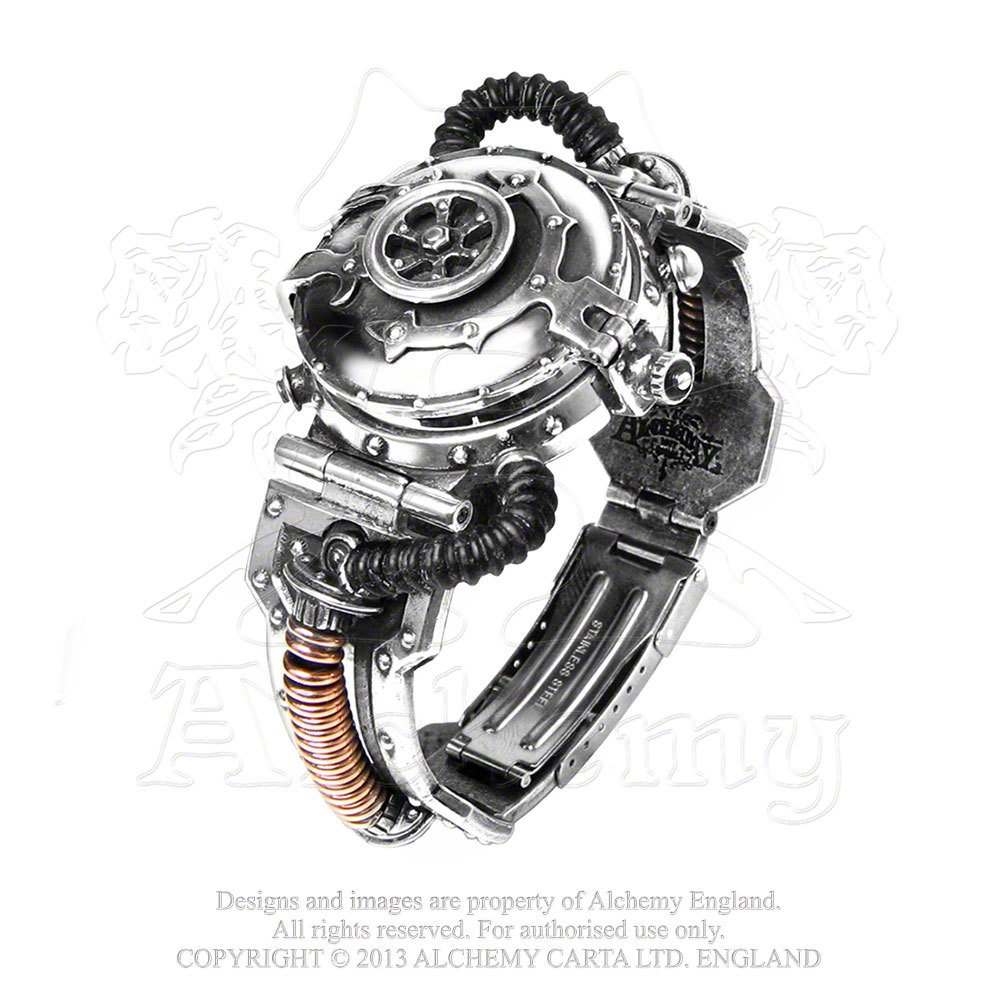 EER Steam-Powered Entropy Calibrator Gothic Watch by Alchemy Gothic