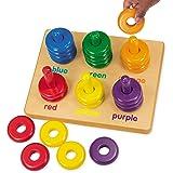 Lakeshore Color Rings Sorting Board