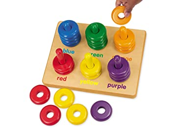 color rings sorting board amazon co uk toys games