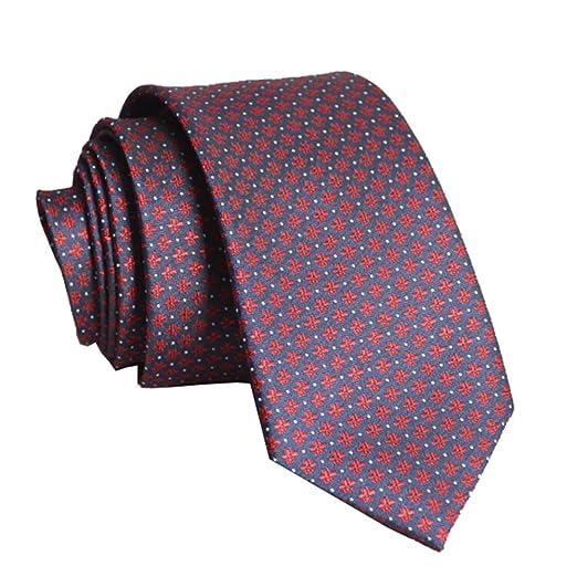YYB-Tie Corbata Moda Moda de Corbata para Hombre con Caja de ...