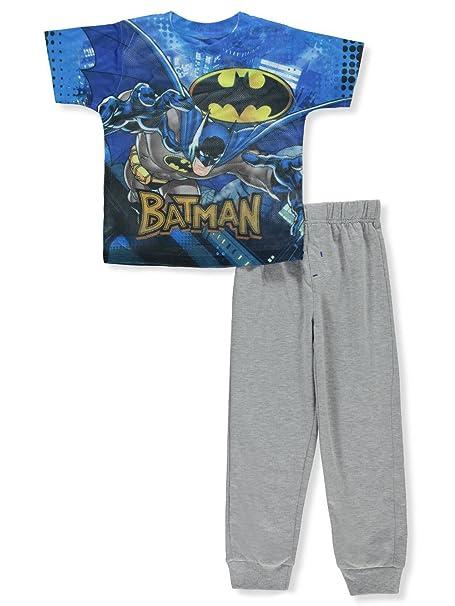 Amazon.com: Batman niños 2 piezas Conjunto de pantalones ...