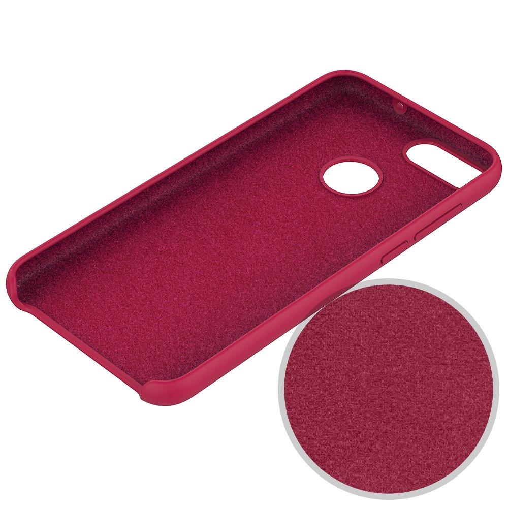 7c92c162c51 Honor 9 Lite Funda Silicona Teléfono Caso Suave Colores del Caramelo con Superfino  Pelusa Forro,Anti-rasguños Protección Carcasa para Huawei Honor 9 Lite ...