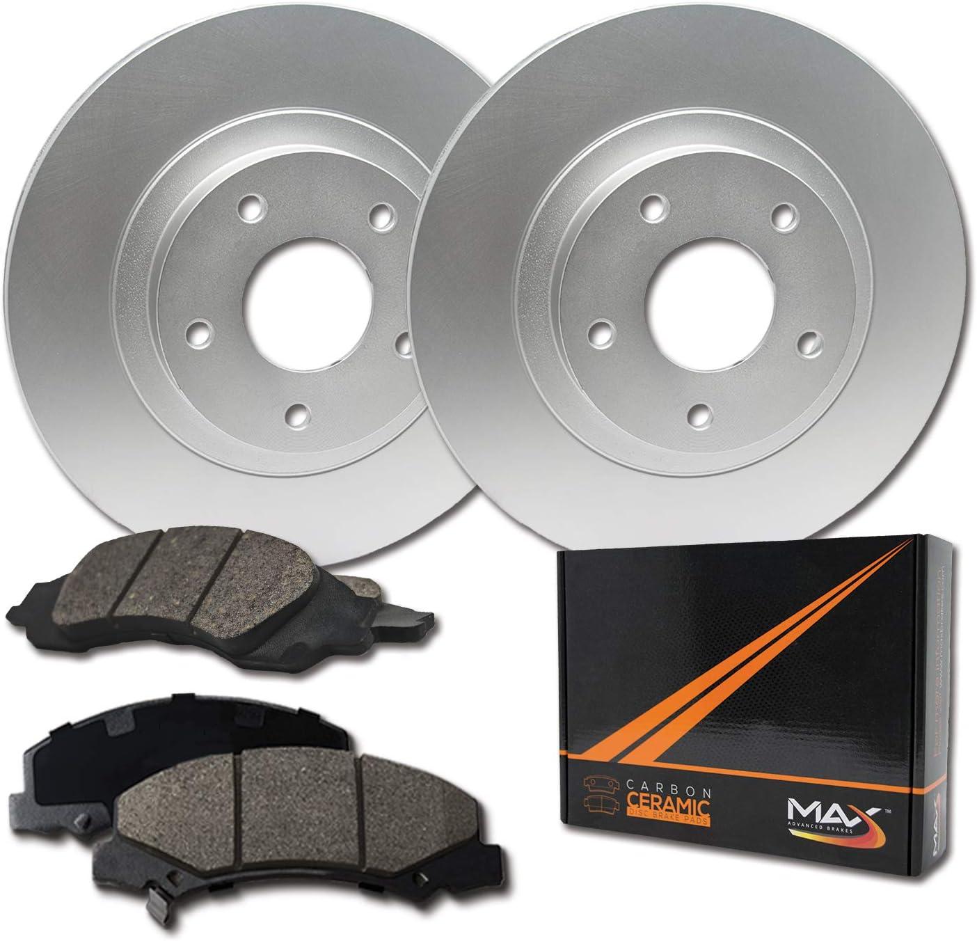 Front Brake Rotors /& Ceramic Pads For Toyota Avalon Camry SE XLE Sienna Solara