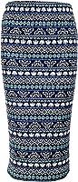 M&S&W Women HigH Waist Skirts Floral Print Bodycon Knee Length Midi Skirt