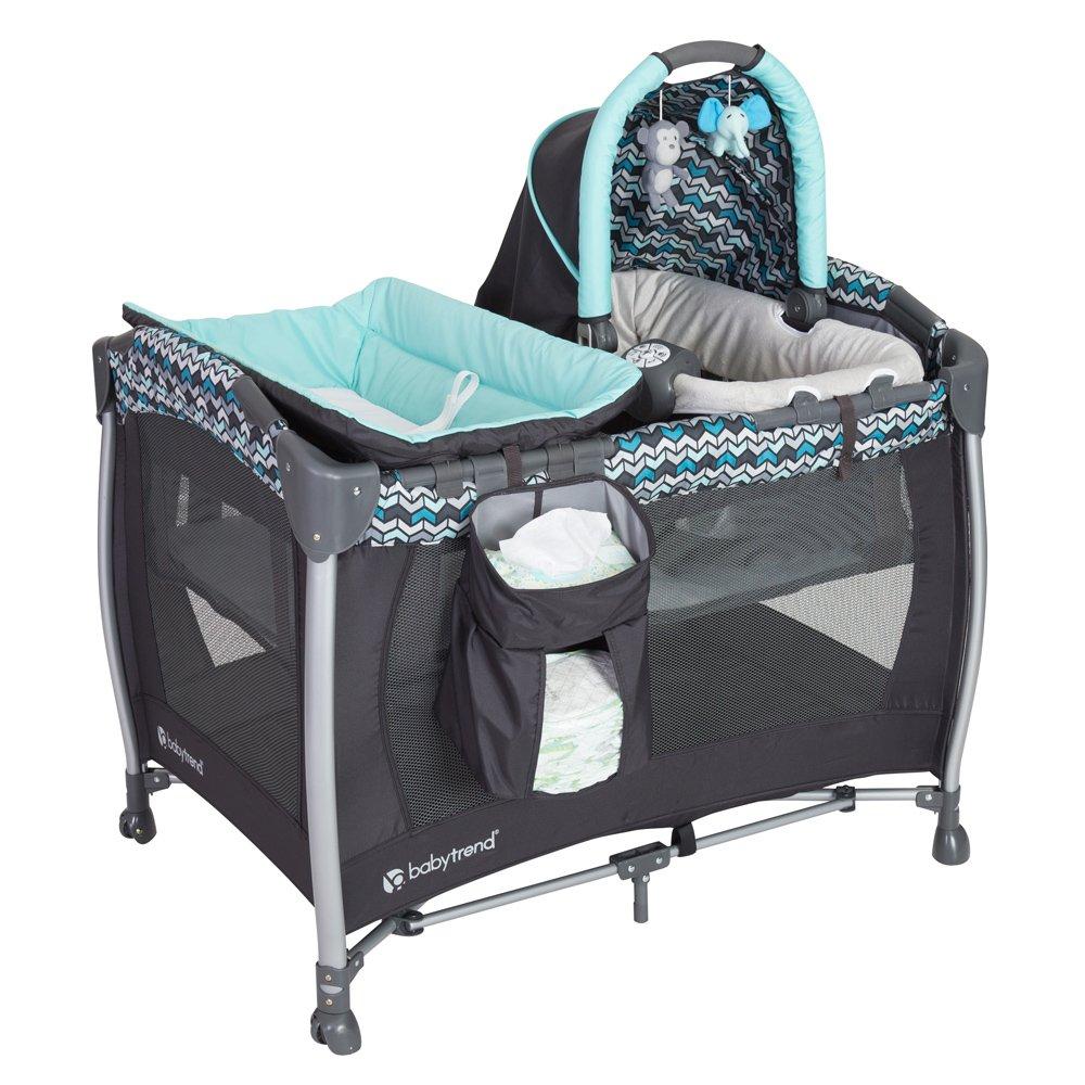 B073JYK4JT Baby Trend Resort Elite Nursery Center, Laguna 71RaxEuM8PL