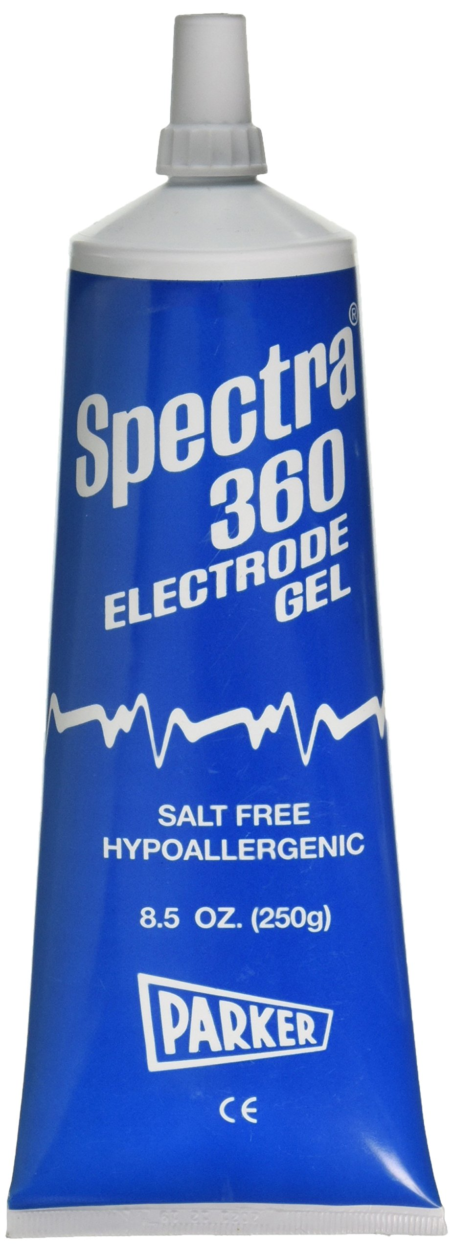 Spectra 360 1208 Electrode Gel - Parker Laboratories - 8.5 oz Tube - (Pack of 3)