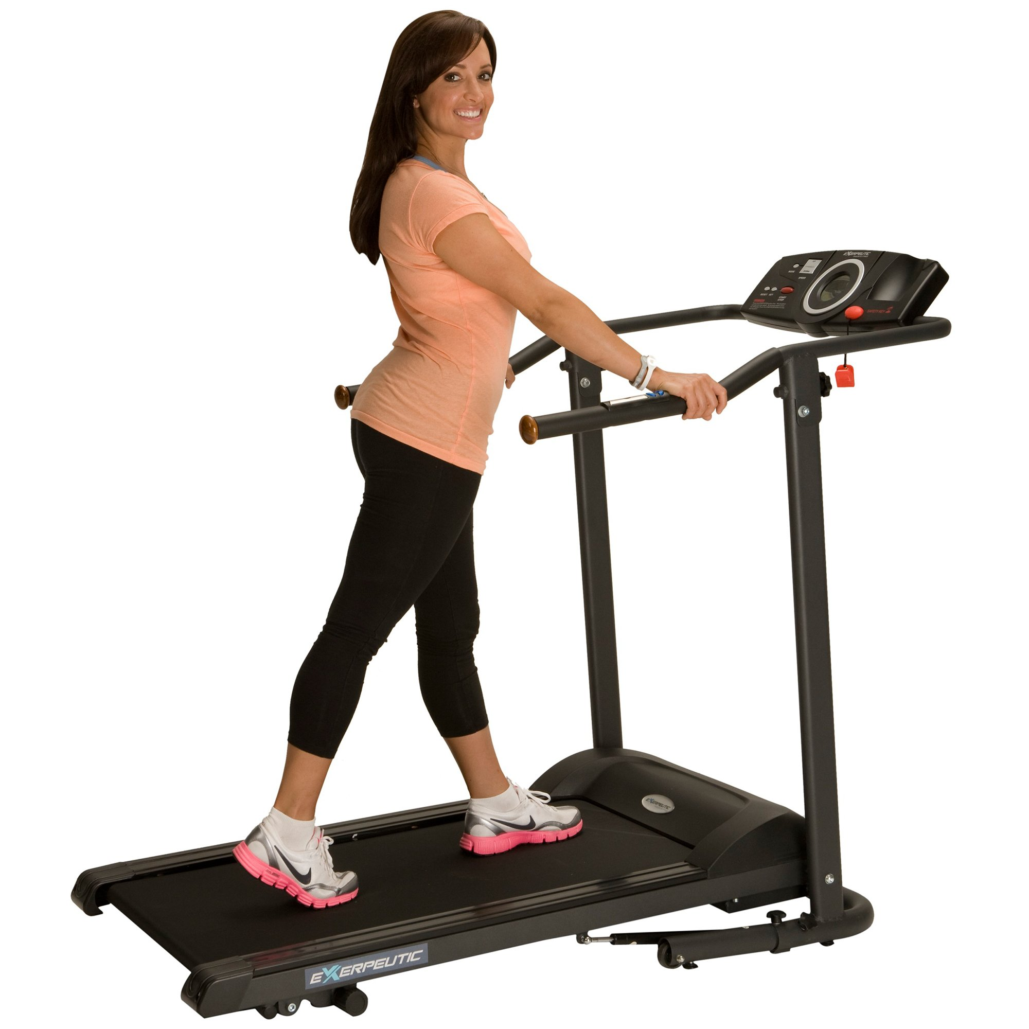 Exerpeutic TF1000 Ultra High Capacity Walk to Fitness Electric Treadmill, 400 lbs by Exerpeutic