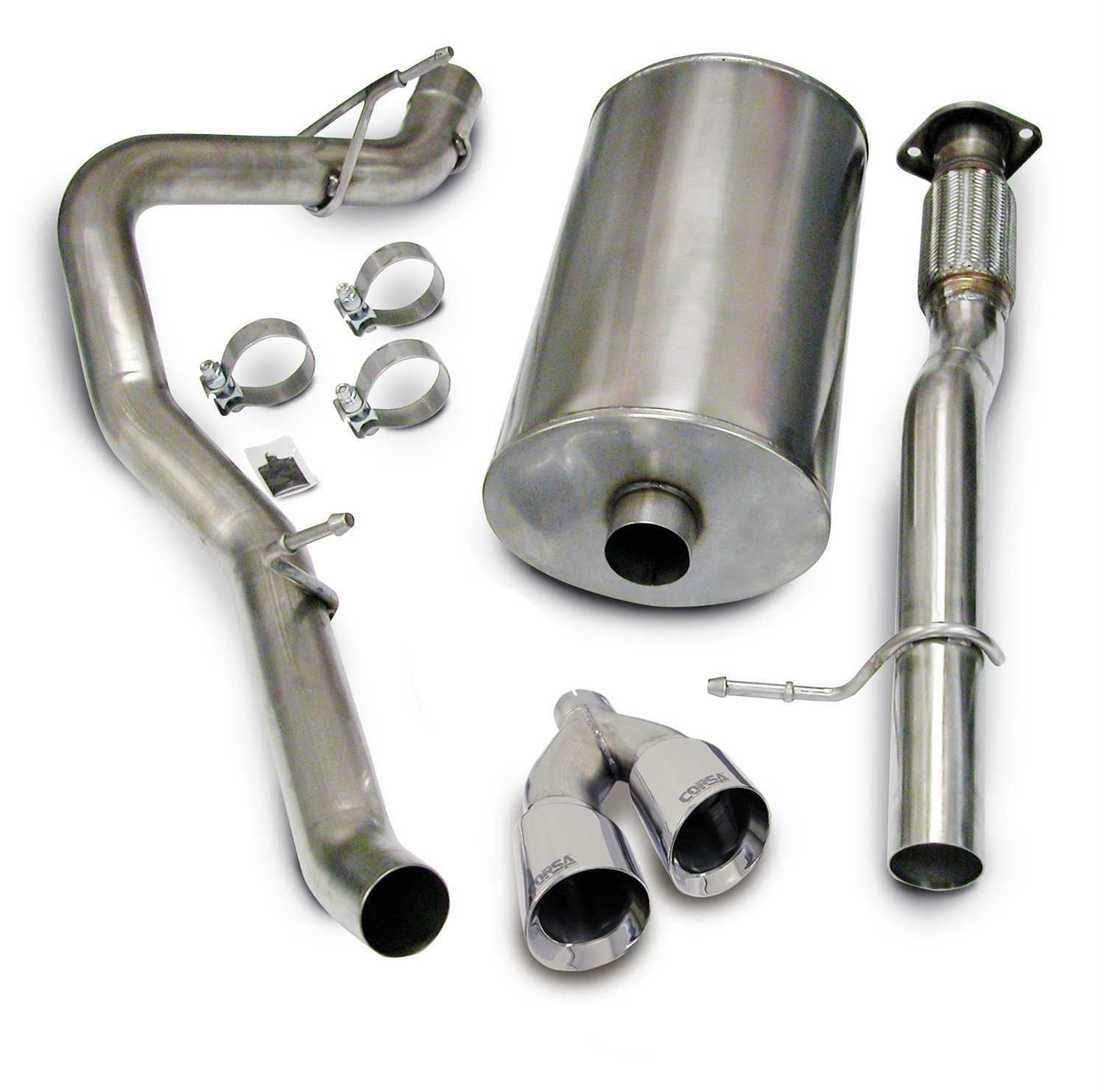 CORSA 14914 Cat-Back System for Suburban Yukon 2009 Corsa Performance