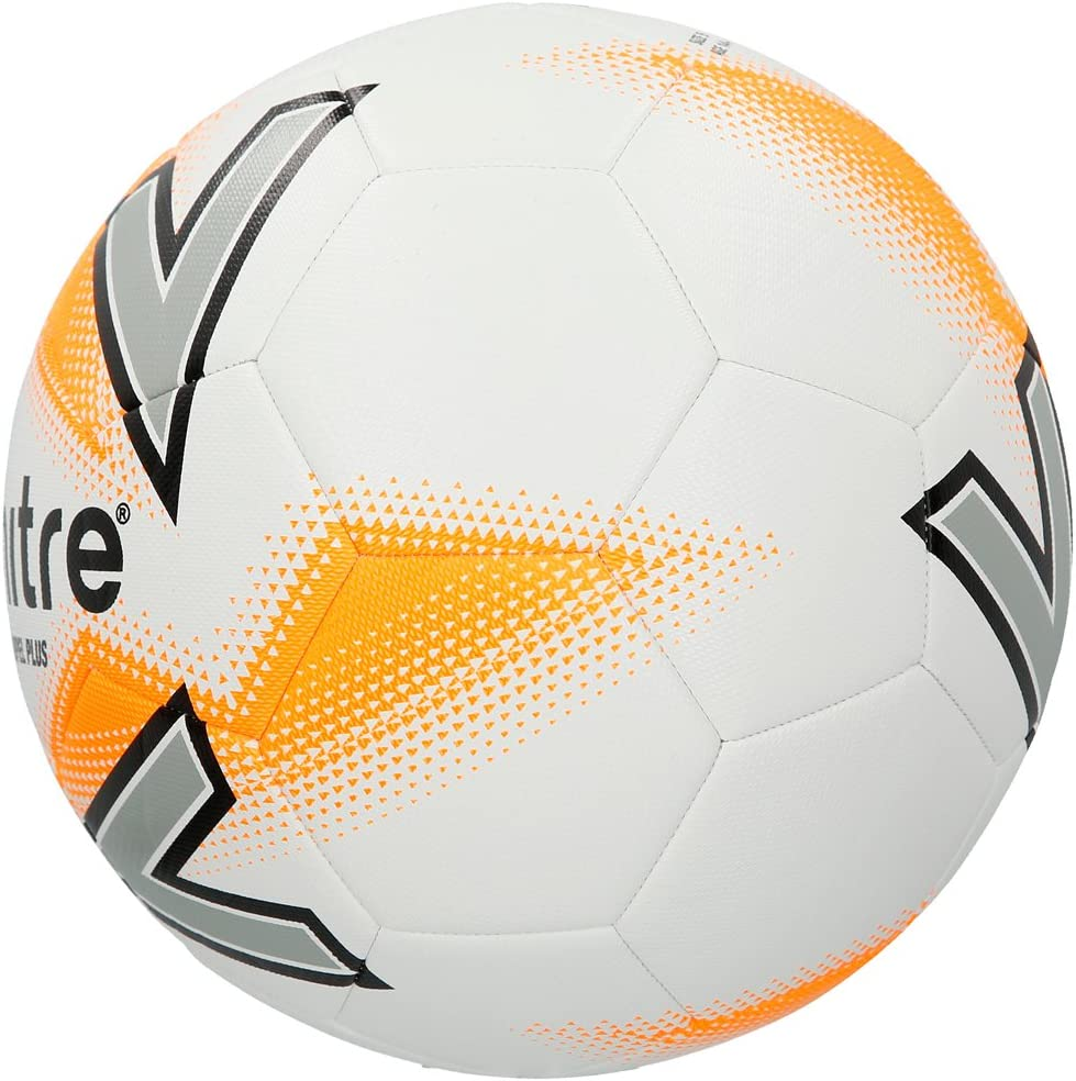 MITRE Impel plus football soccer match Training Ball Blanc//orange-Taille 4