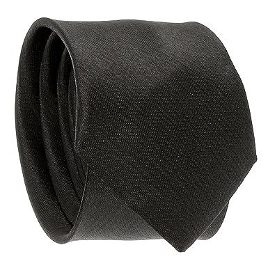 cravateSlim Corbata Estrecha Negra: Amazon.es: Ropa y accesorios