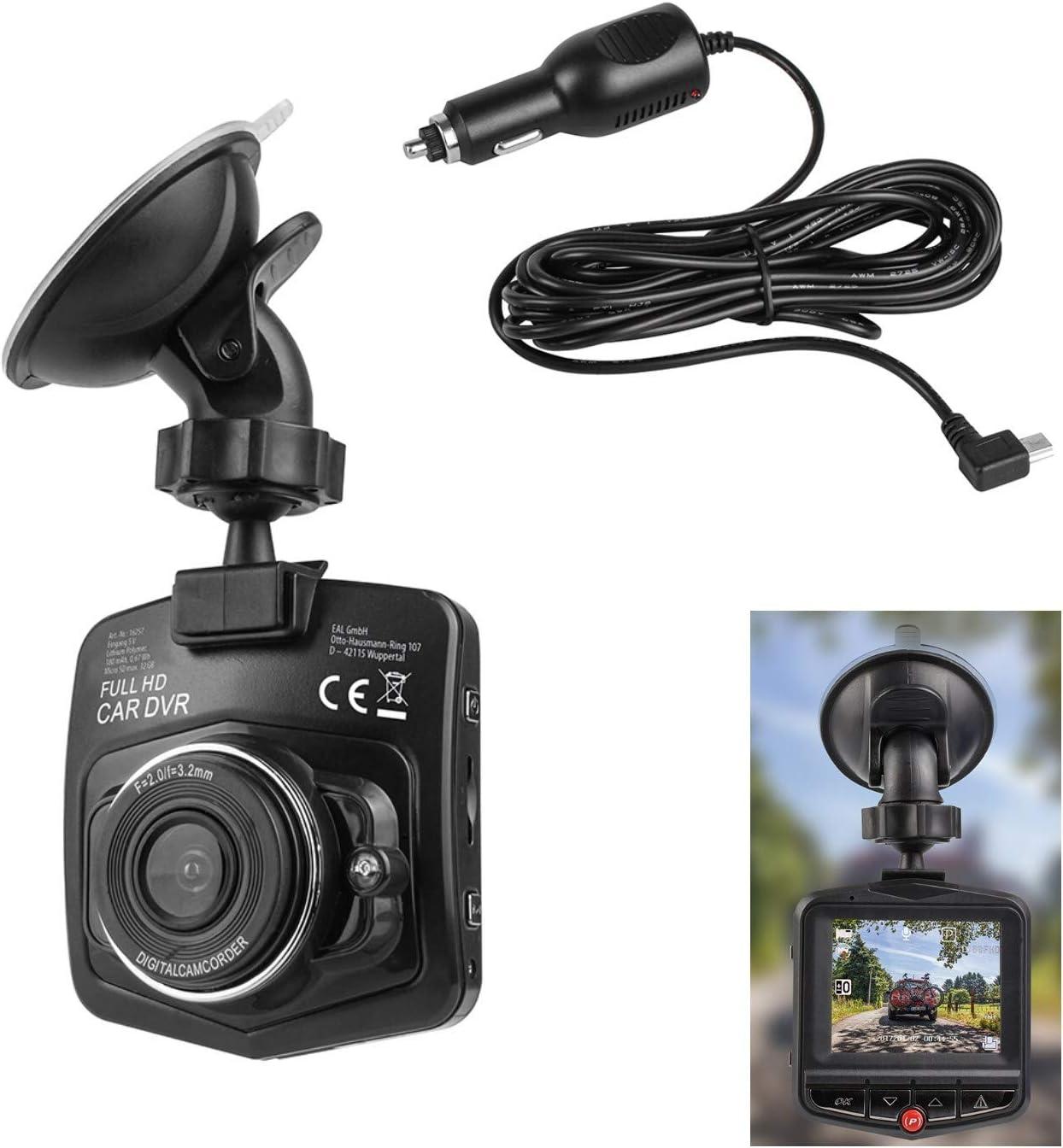 Kfz Dashboard Kamera 32gb Sd Karte 1080 Full Hd Dashcam Nachtsicht Autokamera Auto