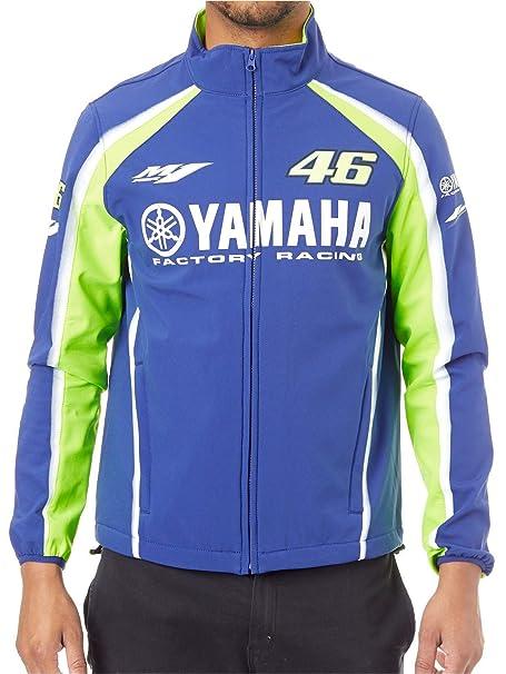 Valentino Rossi Chaqueta Yamaha Vr46 Softshell Racing Azul ...