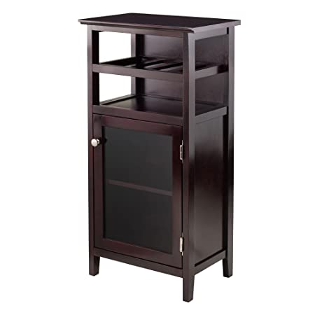 Winsome Wood 92119 Alta Wine Storage Espresso