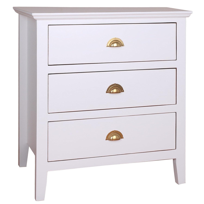 amazon com porthos home brianna 3 drawer side table white kitchen rh amazon com manning 3 drawer side table 3 drawer side table ikea