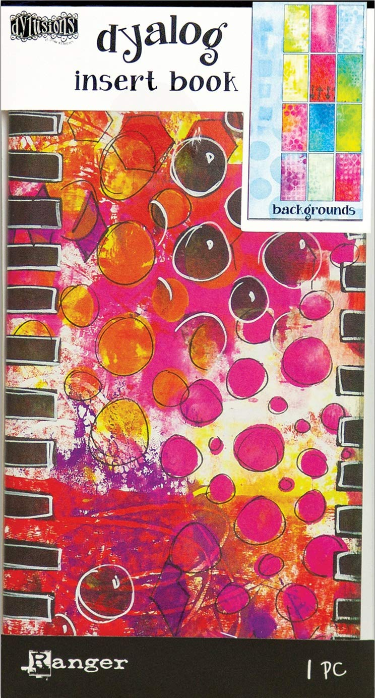 Papier Mehrfarbig 21.1/x 11,5/x 0,6/cm Ranger dya3124 Dylusions Hintergr/ünde Einsatz Buch
