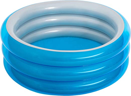 Piscina Hinchable Infantil Bestway Big Metallic 3-Ring Pool 150x53 ...