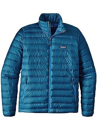 Patagonia Mens Down Sweater Jacket (Big Sur Blue, XX-Large)