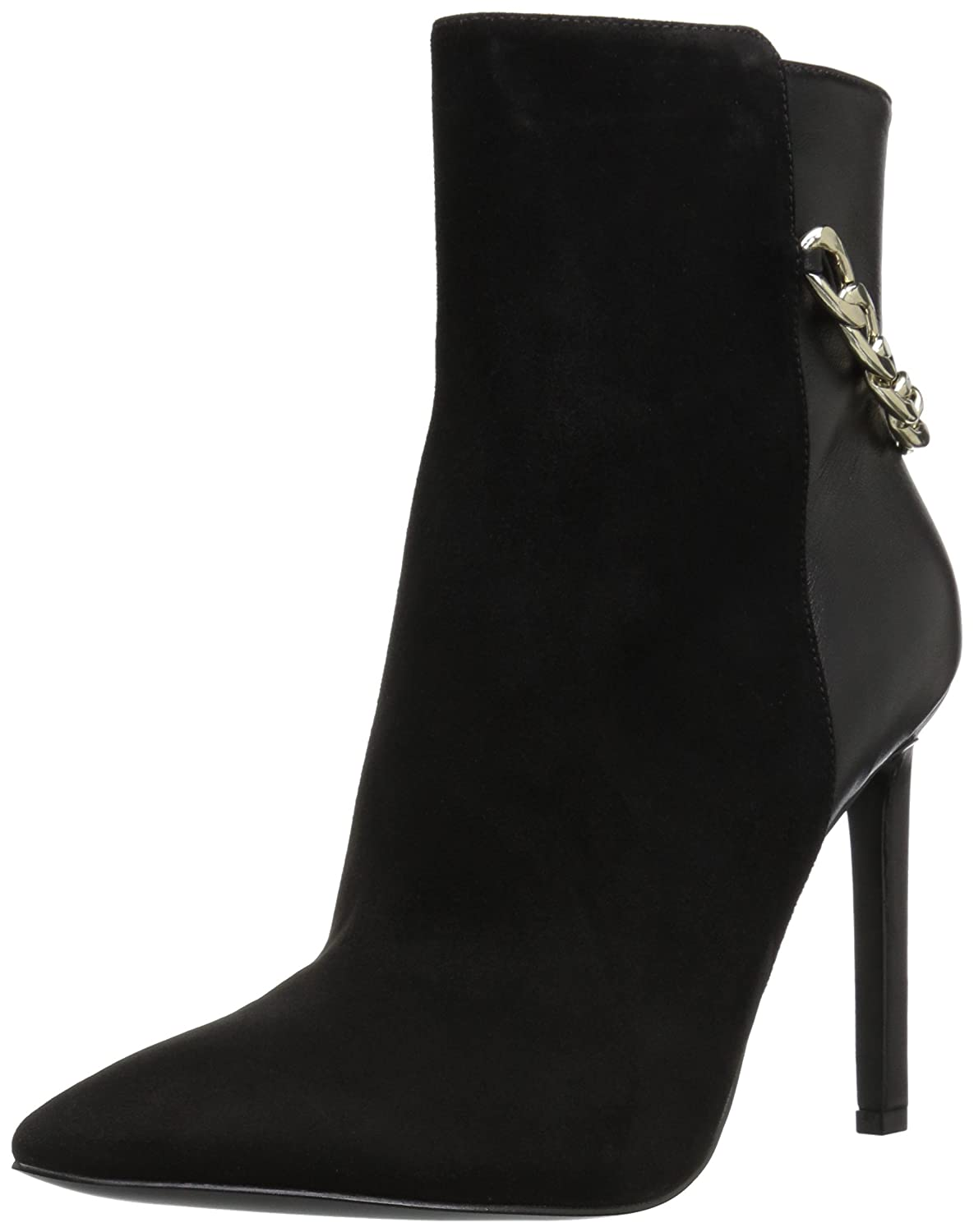 Nine West Women's Tyronah Suede Ankle Boot B01MST3BCH 9 B(M) US|Black