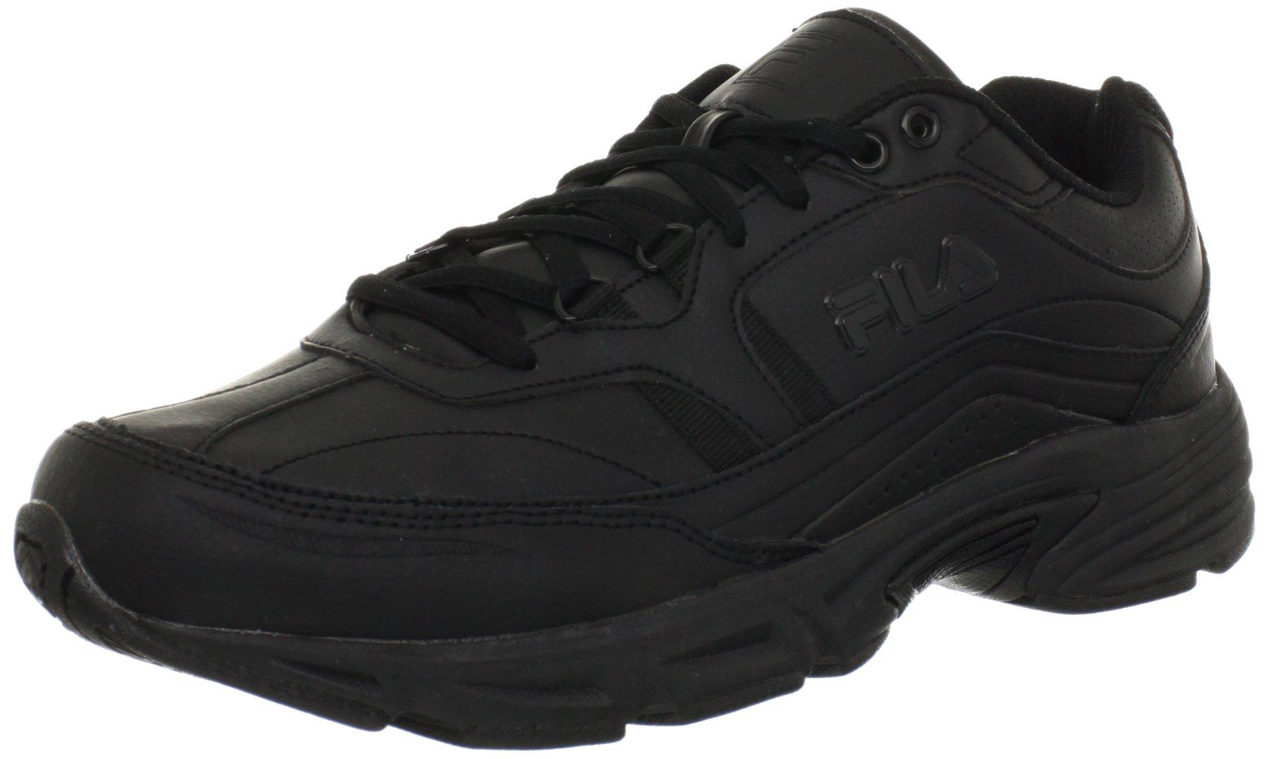 Fila Men's Memory Workshift Cross-Training Shoe,Black/Black/Black,10 4E US by Fila