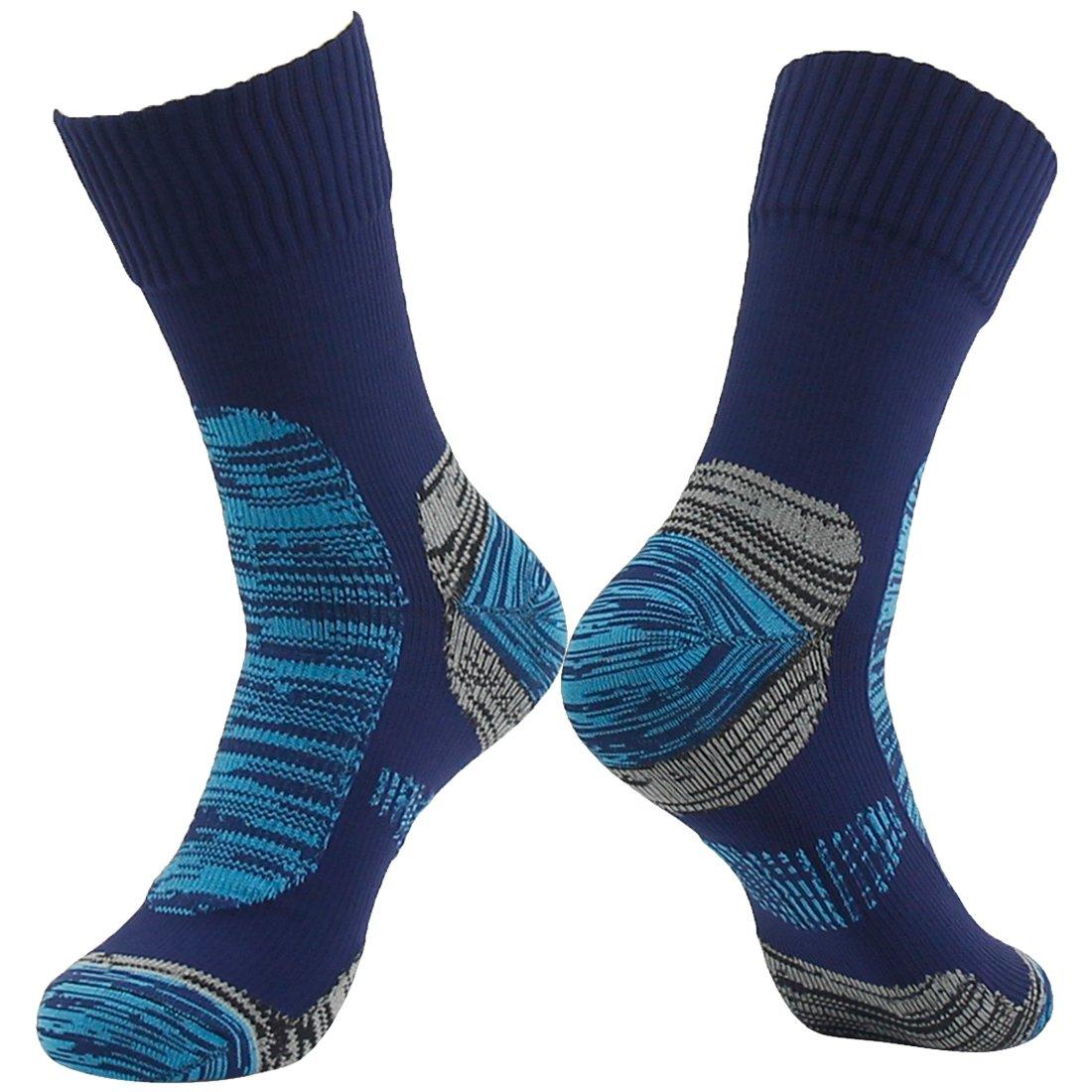 【在庫処分】 通気性防水ソックス Blue&Blue2 Small|1 Small、[ SGS認定]ランディSunユニセックス通気スキートレッキングハイキングソックス B01EXXWYVC 1 Pair-Navy Blue&Blue2 Small Small|1 Pair-Navy Blue&Blue2, 品質が完璧:92d946bc --- mail.mrplusfm.net