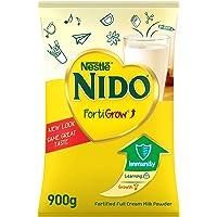 Nestlé NIDO fortified Full Cream Milk Powder Pouch, FortiGrow, 900g