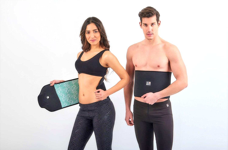 FIR TECH Fitness Cinturilla para cintura delgada Pérdida de ...