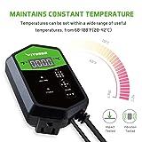 VIVOSUN Digital Heat Mat Thermostat Temperature