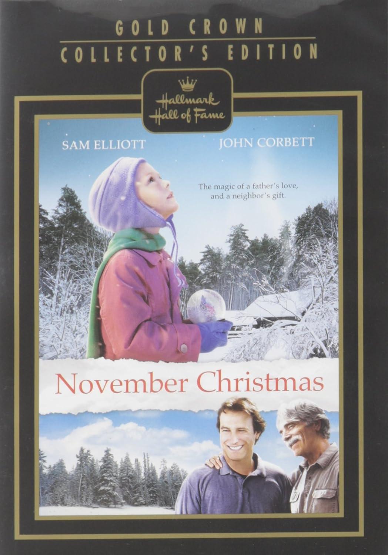 November Christmas.Amazon Com November Christmas Hallmark Hall Of Fame John