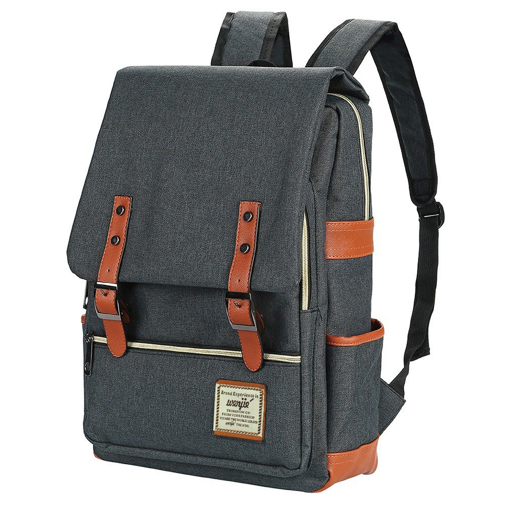 Amazon.com  Canvas Backpack - Lightweight Laptop Backpack 5112b29e14398