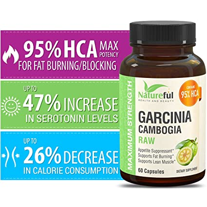 Amazon Best Garcinia Cambogia Extract For Weight Loss Raw 95