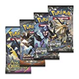Pokemon TCG: Lucario Gx Box - 4 Booster Pack + A