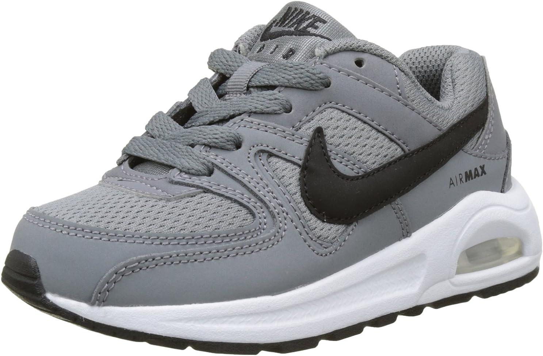NikeAIR MAX COMMAND FLEX, Zapatillas deportivas Unisex Niños, Multicolor (Cool Grey/Black/White), 29.5 EU: Amazon.es: Deportes y aire libre