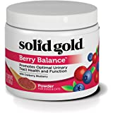 Solid Gold Berry Balance for Urinary Tract Health in Cats & Dogs; Natural, Holistic Grain-Free Supplement with Antioxidant-Rich Cranberries & Blueberries