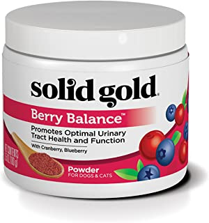 product image for Solid Gold Dog & Cat Supplements for Urinary Tract Health and Testing; Berry Balance Chews and Powder with Antioxidant-rich cranberries