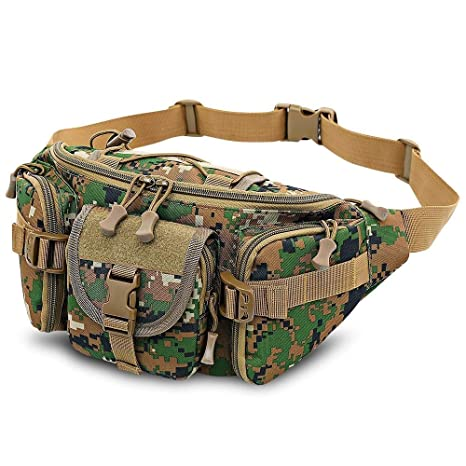 56731fd01583 Amazon.com : 1Pc 3-5L waterproof waist pouch bag-Camping Bags for ...