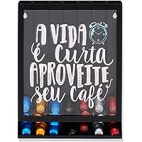 Porta Cápsulas de Parede Modelo Nespresso Aproveite Seu Café