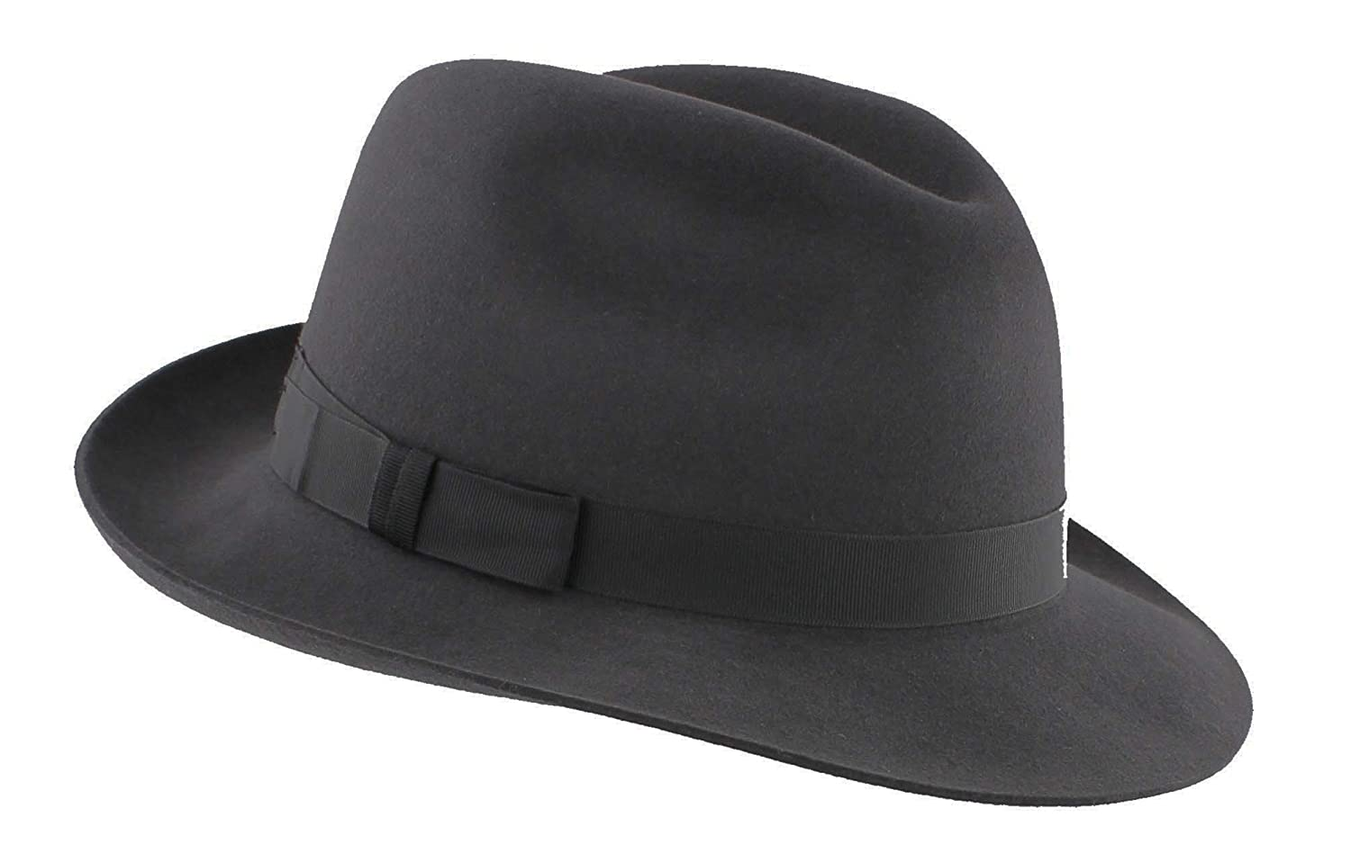 Christys of London Mens Epsom Racing Fedora in Slate