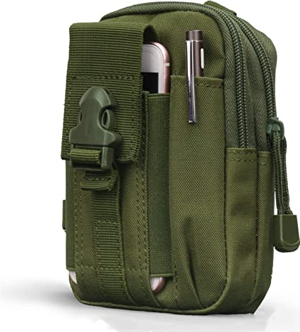 Outdoor Tactical Molle Pouch Belt Waist Fanny Pack Military Phone Bag Pocket US