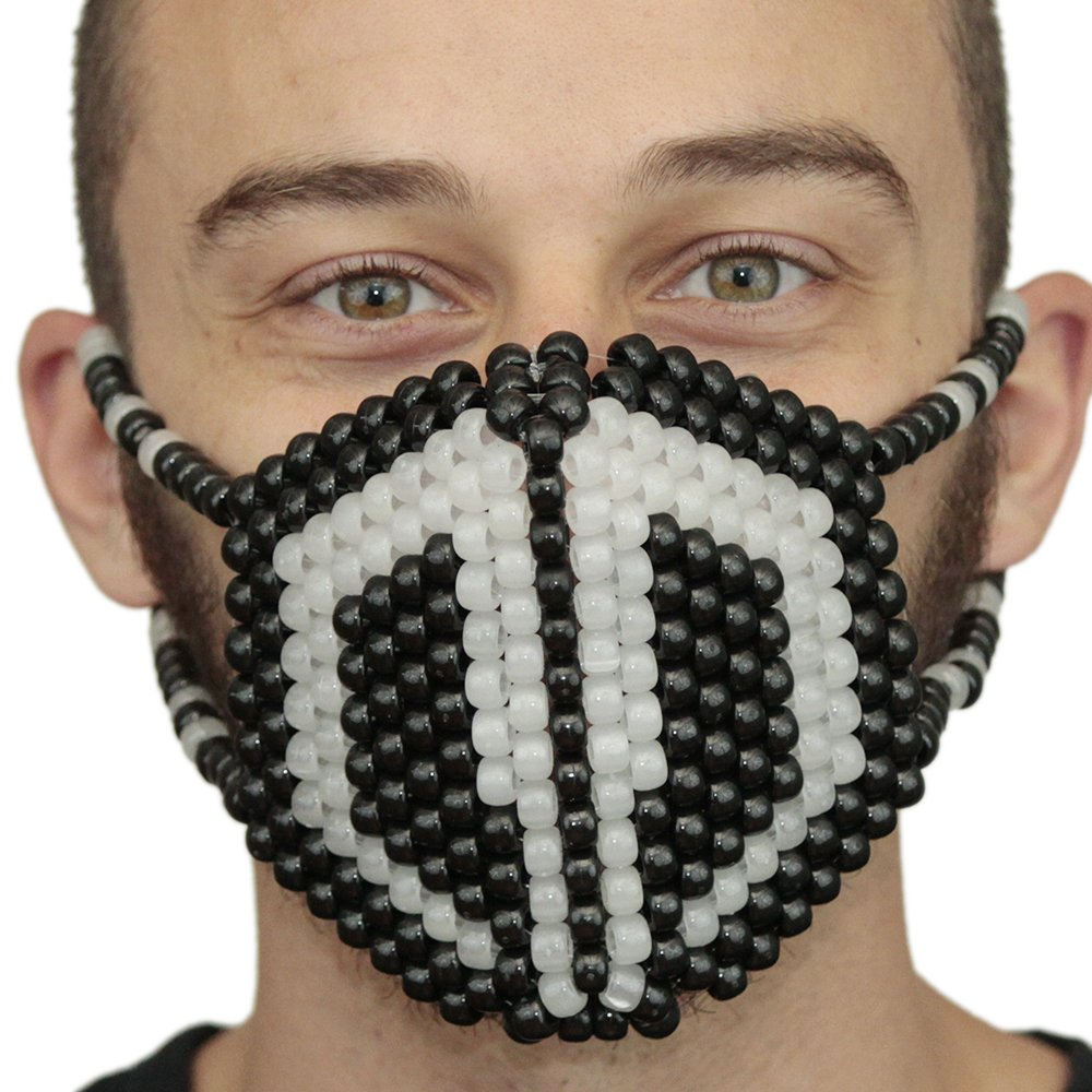 Kandi Gear - Rave Masks, Glow In The Dark Kandi Masks, Rave Gear and Rave Outfits (Glow015)