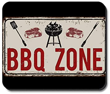 Amazoncom Mouse Pad Bbq Zone Office Products
