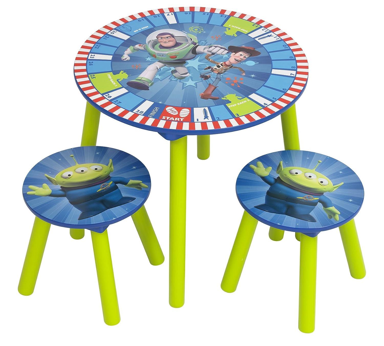 Worlds Apart, 71ET401, Set di tavolino e sgabelli per bambini, motivo: Toy Story 71ET402