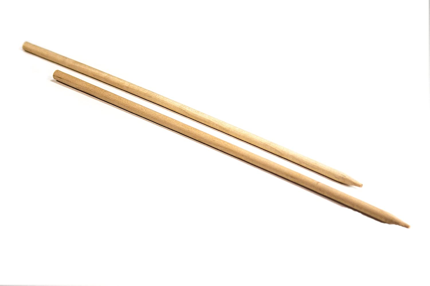 """Perfect Stix Wooden Pointed Candy Apple Stick, 1/4"""" Diameter x 5-1/2"""" Length (Pack of 1,000)"""
