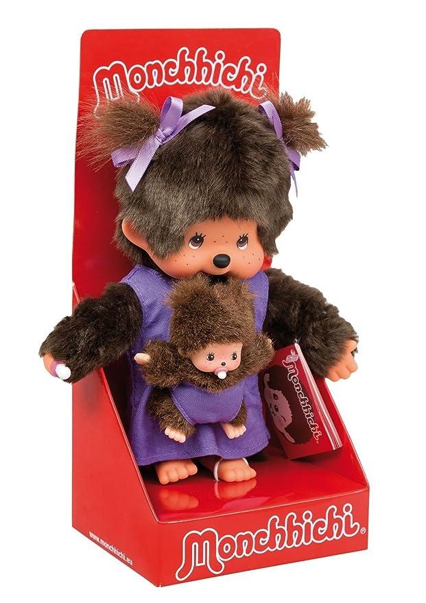 1 opinioni per Sekiguchi 236490- Scimmiette di peluche mamma e figlio Mon cicci, 20 cm, colore: