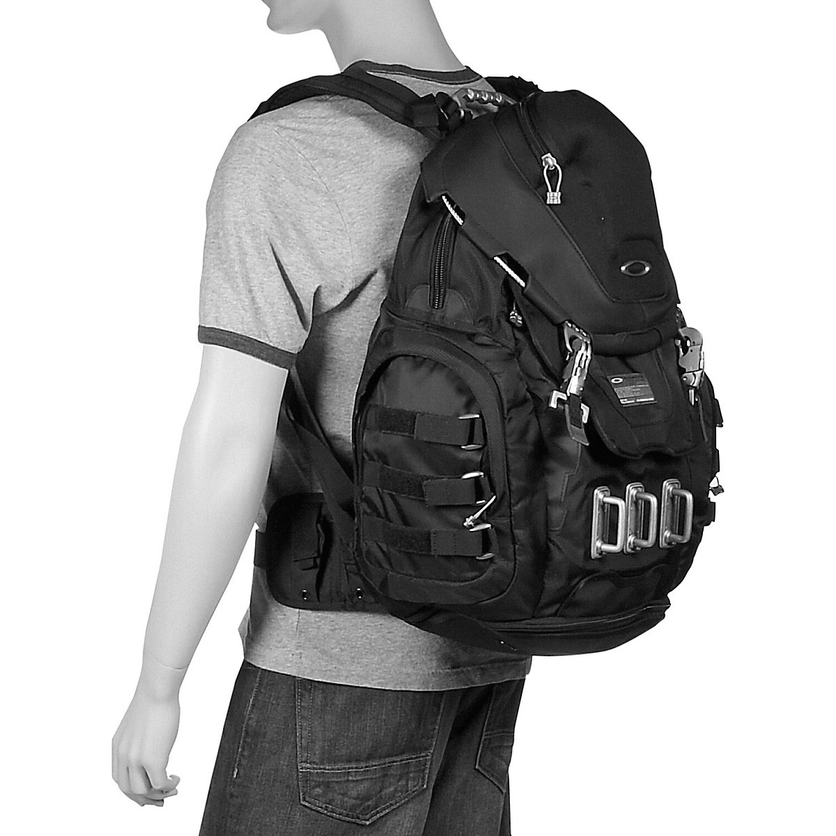Amazon.com : Oakley Kitchen Sink Backpack Grey Fossil : Hiking ...